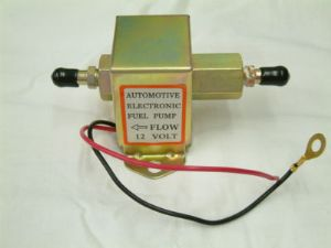 Electronic automotive fuel pump, solid state (Facet Style)